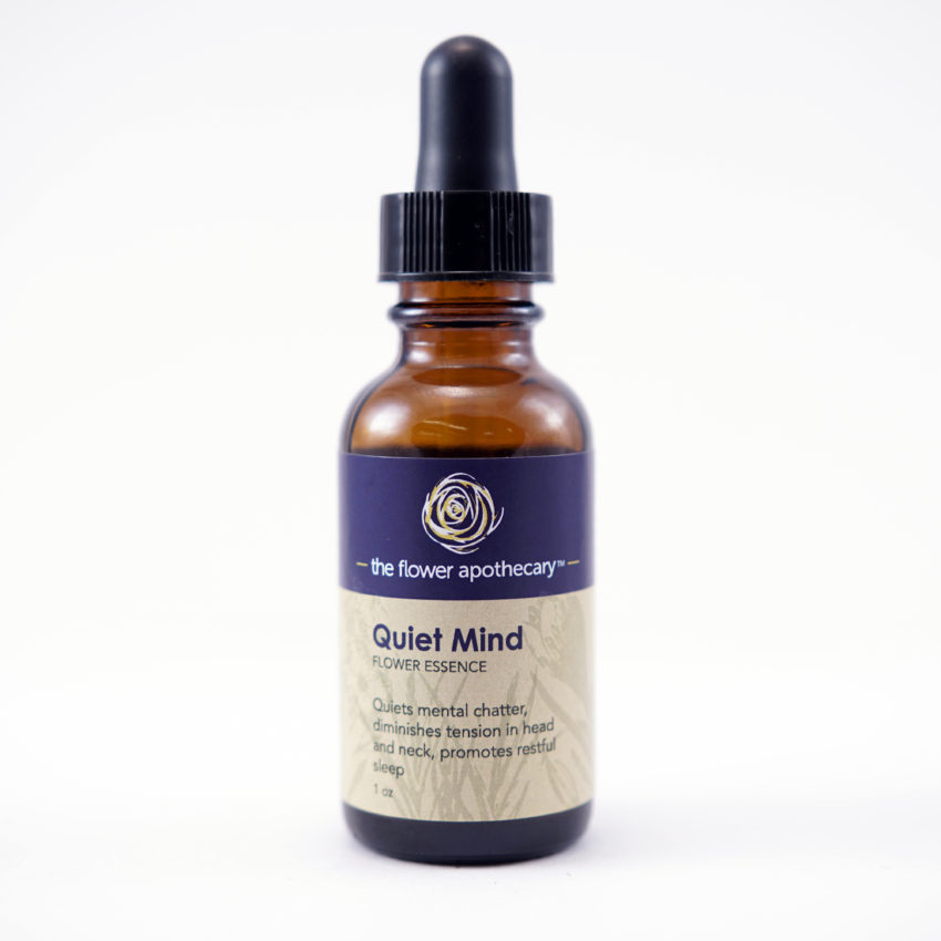 quiet mind flower essence