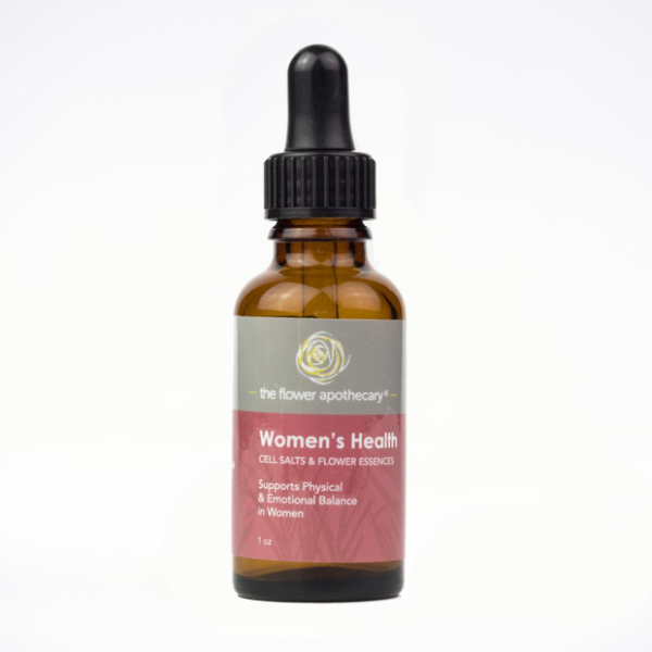 women's health cell salts & flower essences